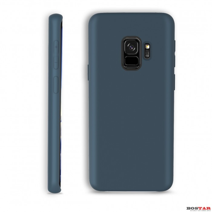 Liquid Silcon Case for SAM s9 blue