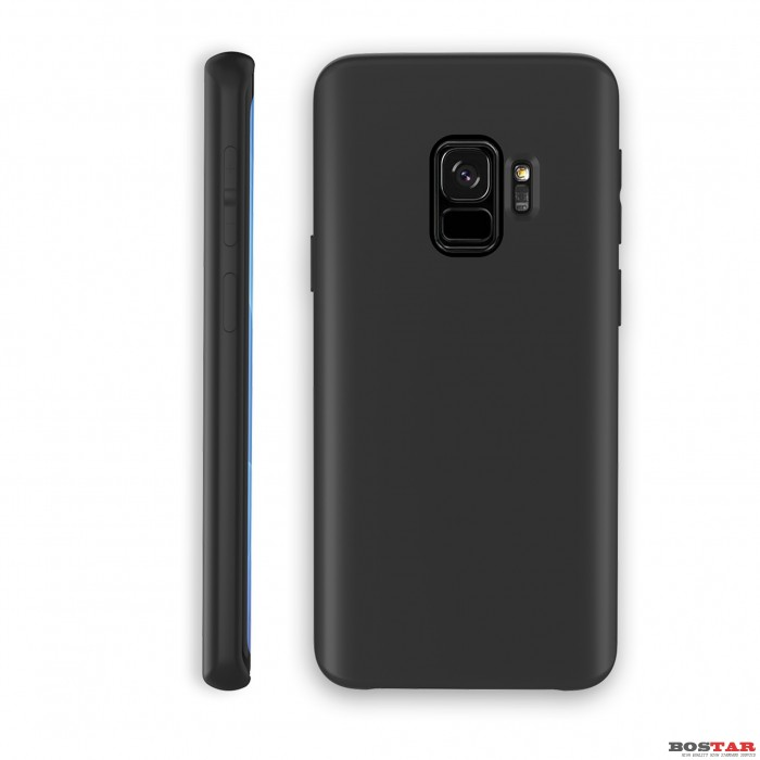 Liquid Silcon Case for SAM s9 black